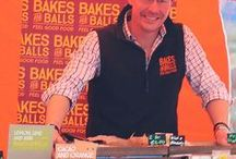Bakes and Balls on The Artisan Food Trail / Bakes and Balls is a feel good food company which believes that natural and healthy food should look and taste fantastic. Theirs does!