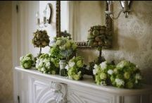 Mantles, Banisters & Wreaths / Dress up that fireplace.