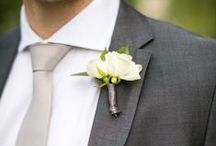 Boutonnieres / Little something for the guys.