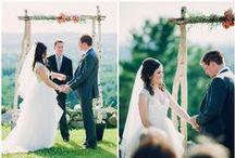 """Ceremonies / """"I do."""""""