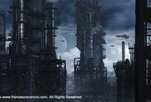 Země v budoucnosti / Takto a ještě hůře vypadá Země v budoucnosti, kterou ná zachránit Bio-Drone Industries