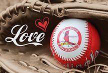 Baseball + St. Louis Cardinals love / Baseball