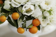 Wedding Inspiration: Orange Blossom / The softer side of citrus