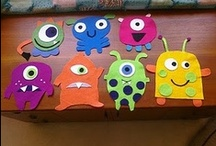Monster Classroom / Great ideas for decorating your classrooom with monsters! / by Stef Swanson