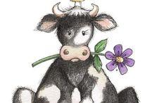 Mad Cow / Moo-mamma, moo-pappa, moo-mei, mei-mei, boeboe en snifsnaf en stinkie daarby! Almal bly saam in die moo-vallei saam met MOOMIN! #Cows ; Clothes , home decor, jewelry, accessories