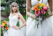 Real Wedding: Savannah Wedding in Spring / Bright colors shine at this easy and fresh wedding. Real wedding
