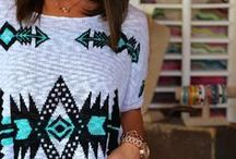 Mostly Me - Aztec / Tribal / Aztec / Native / Mexican Print Clothing
