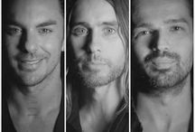 30 Seconds To Mars / 30 Seconds to Mars but mainly Shannon Leto / by Nicole Abrazian