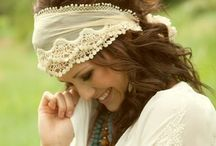 Mostly Me - Boho-chic / Boho-chic is a style of female fashion drawing on various bohemian and hippie influences. Gypsy