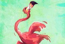 Flirty Flamingo / Flamingo Birds