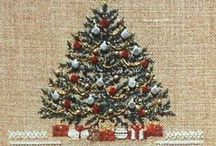 Xmas/Winter Needle Ideas & Inspirations / Christmas cross-stitch, embroidery, plastic canvas, and just stitching on something / by Barb Gibson-Benninger