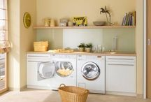 Laundry Design / Laundries that inspire us, creative and functional spaces.