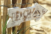 Life's A Beach House / Beach House Decor / by ZombieGirl