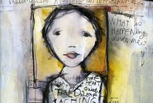 Art Books, Journals and their Pages / by Lynn Thomson
