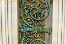 vintage doors / by Rebecca Littlefield