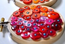 button crafts / by Rebecca Littlefield
