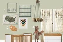 Nursery Design: GREEN / by Lullaby Paints