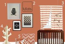 Nursery Design: BOLD COLORS