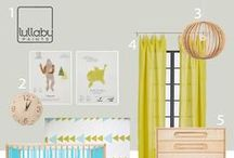 Nursery Design: POP OF COLOR / by Lullaby Paints