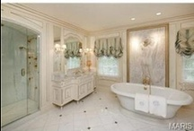 Bathrooms / Some of the amazing bathrooms and inspirational spa-like ideas for your dream bathroom.