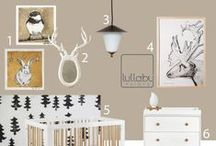 Nursery Design: WOODLAND / woodland nursery inspiration