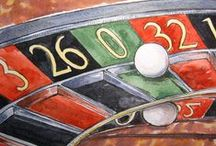 Casino & Gambling Art / How artists, illustrators and photographers have portrayed casinos and gambling throughout the ages.