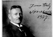 Jørgen Peter Müller / J.P. Muller - Danish gymnastics educator and author of 'Mit System' (1866 - 1938)