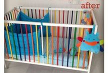 Creative Painted Cribs