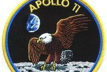 Apollo Moon Landings / Press coverage, theories, speculation and artwork focusing on NASA's Apollo programme which delivered six Moon landings from Apollo 11 in July 1969 to Apollo 17 in December 1972.