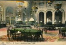 Vichy Casino / The casino in the spa town of Vichy in the early part of the 20th C. became one of the most exclusive in Europe.