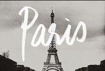 Paris / montmartre | tour eiffel | louvre  / by Ange-line Tetrault