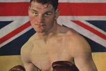 Bruce Woodcock / Doncaster born Bruce Woodcock (1920 - 1997) held the British and Empire heavyweight titles from 1945 to 1950 and was perhaps the most popular and successful British fighter of the era.