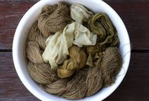 Natural Dyeing / Dyeing fabric with plants