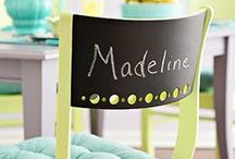 Nursery Design: Chalkboard Paint