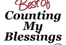 Best of Counting My Blessings / Hi Friend, I'm devoted to helping you navigate the intersection of faith and life. This board includes the best stories, tips, and resources from Counting My Blessings. Visit me at countingmyblessings.com