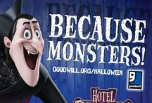 "Hotel Transylvania 2 Meets Goodwill / This Halloween Goodwill Industries meets up with Sony Pictures entertainment to support the new movie release,  ""Hotel Transylvania 2"", and to encourage people to shop at Goodwill for their Halloween costumes.  ""Be Your Own Monster, Shop Goodwill to Help Neighbors Earn Employment."""