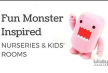 Fun Monster Inspired Nurseries and Kids' Rooms