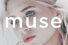 muse / Women and men that inspire ourselves and others with their natural beauty.