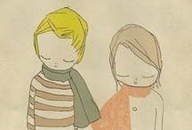 illustration / by Rosana Silva