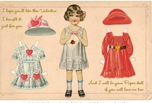 Dolls - paper / children's past time or fashion changing / by Katberglar