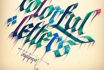 Calligraphy & Fonts / A collection of lovely lettering.