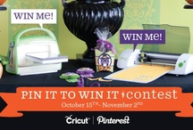 Cricut Halloween Projects / An AWESOME holiday contest from #Cricut! So easy to enter, too! Follow the information on the Cricut contest pin on this board to enter & play along! A #Cricut Mini & #Cuttlebug will be awarded every week!