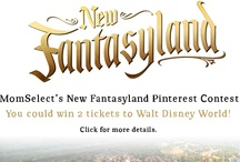 New Fantasyland / MomSelect is celebrating New Fantasyland with a fun and fantastical Pinterest contest! The grand prize winner will receive two 1 day park hopper passes, giving the winner the flexibility to come and go through Magic Kingdom theme park, Epcot theme park, Disney's Hollywood Studios theme park, and Disney's Animal Kingdom theme park on the same day! Two runners-up will each receive a $50 Disney store gift card!