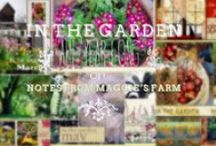 In the Garden: Your Monthly Growing and Going To-Do Lists / On Notes from Maggie's Farm, a NEW FEATURE!  A click-thru slideshow of monthly garden guides detailing what is growing, and going on all the year long.  Also titled If Lucy Ricardo had a Blog.....I lost a little sleep over this.