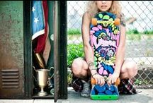 PATINA X illPinto / A dope collection vintage skateboards rentable by each collection at Patina Vintage Rentals!!!  / by PATINA