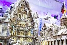 Gingerbread Village 2014 / Bigger and better than ever, 2014's Gingerbread Village features the iconic Schloss Neuschwanstein Castle.