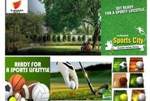 """Ajnara Sports City / Ajnara Group is launched a  project """"Ajnara Sports City"""" in Noida Extension. The project spread across   100 acres of authority sports complex."""