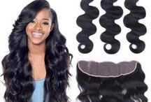 lace frontal / human hair lace frontal uhair mall hot selling 100% unprocessed virgin hair