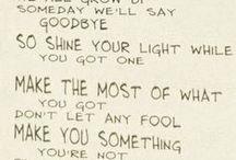 Quotes/Lyrics