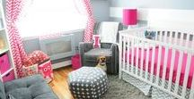 I want that nursery! / Fun ideas for your baby nursery and a soft place to rock your baby gently.